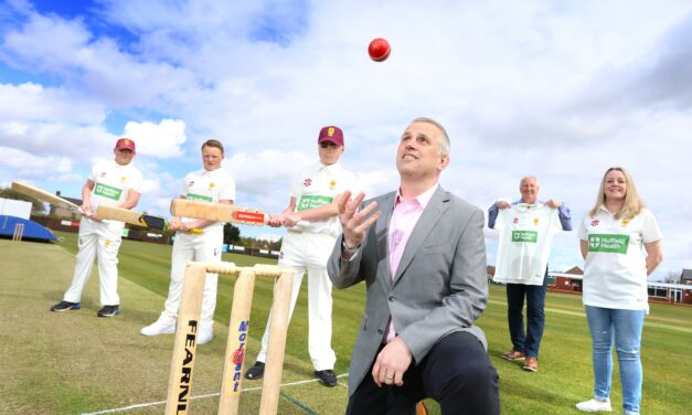 Nuffield Health Tees Hospital gives local cricket club a boost