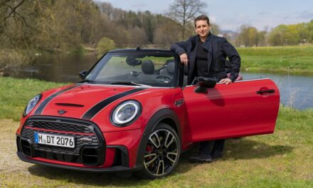 The MINI Convertible: the future is ready for it