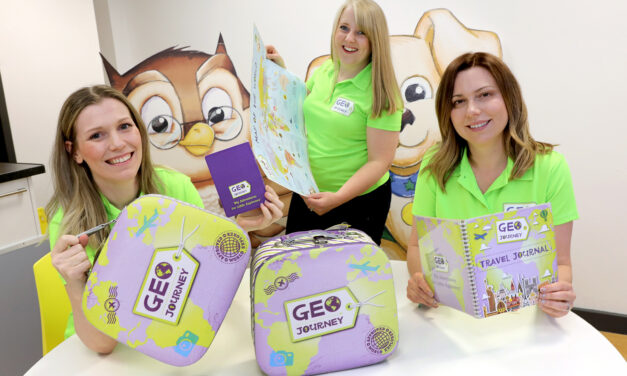 Geography education company takes to the road
