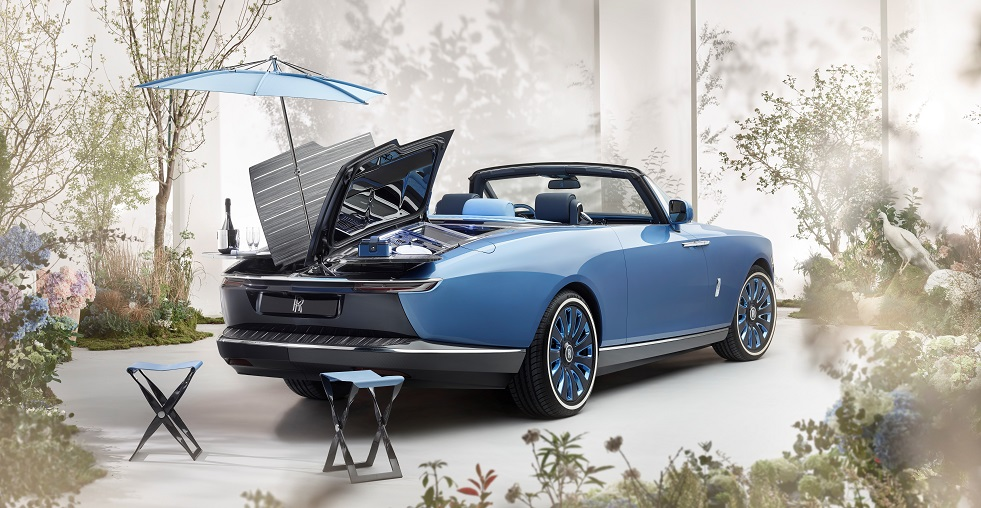 Rolls-Royce 'Boat Tail' a counterpoint to industrialised luxury