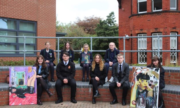 Sunderland students shine brightly in local arts exhibition
