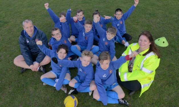 Bellway helps to keep young footballers warm this season