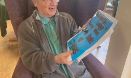 Residents at care home write their own joke books
