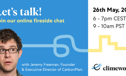Climeworks' hosts its first climate change solutions fireside chat
