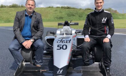 Time and More UK Ltd partners with BRDC British F3 Drier Bart Hortsten, in conjunction with Briston Watches