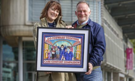 Artwork celebrating our frontline heroes to be auctioned off for charity