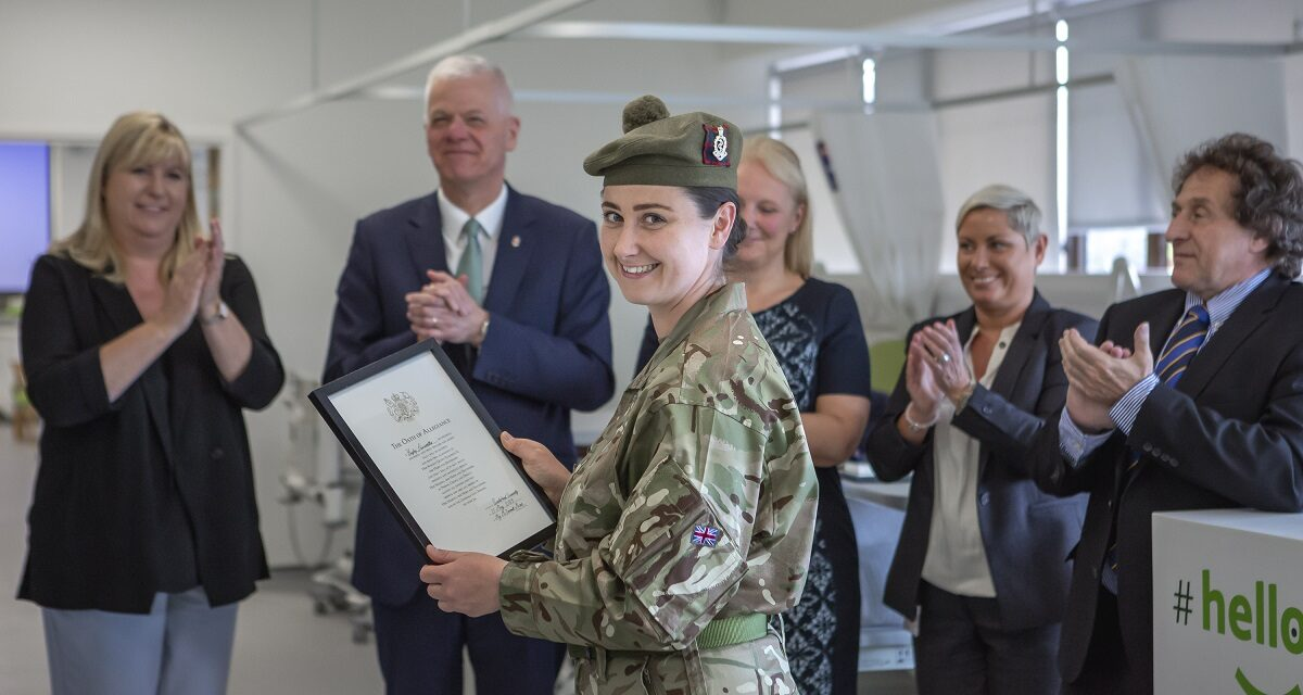 Armed Forced Day: University of Sunderland's role in helping our heroes