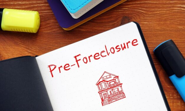 How To Sell Your House In Pre-Foreclosure