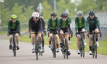 Dame Sarah Storey selects four new female amateur riders to join the prestigious ŠKODA DSI Cycling Academy
