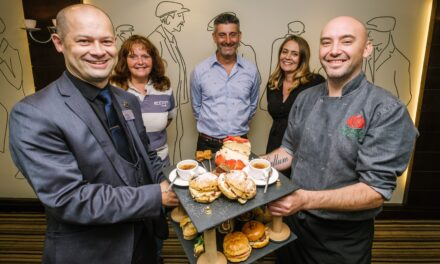 Local food suppliers work with Lancaster hotel for teatime treat