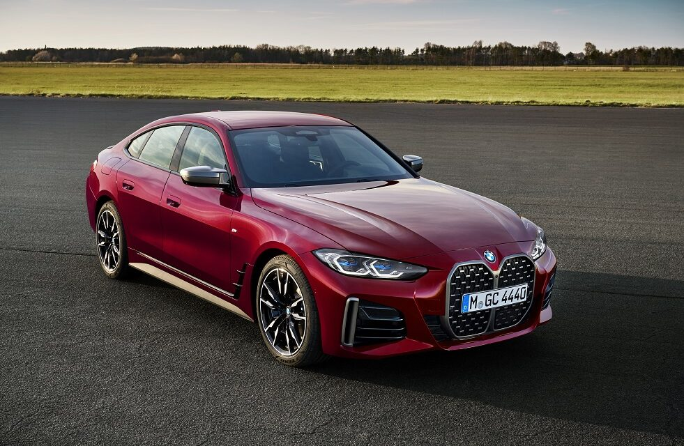 The all-new BMW 4 Series Gran Coupé