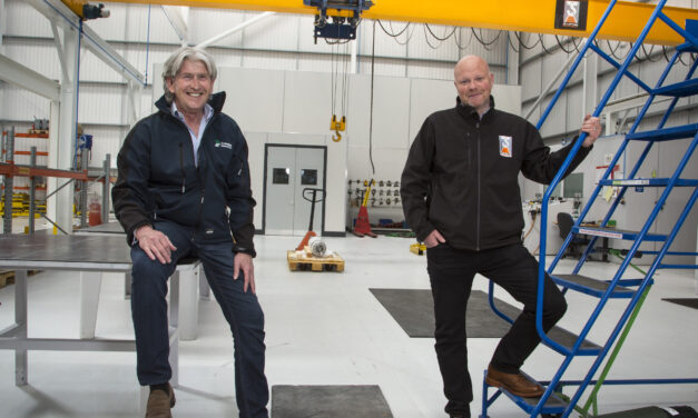 Partnership makes light work of heavy lifting at Express Engineering's new assembly and test centre