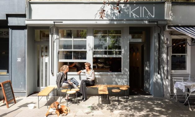Introducing KIN Café; Plant-Based and Vegan Eatery in London's Fitzrovia