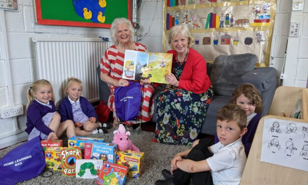 Generous donation supports development catch-up for tiny tots