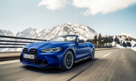 The new BMW M4 Competition Convertible with M xDrive