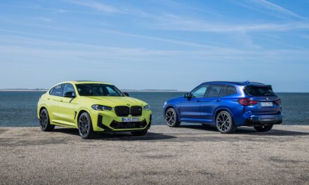 The new BMW X3 M Competition and the new BMW X4 M Competition