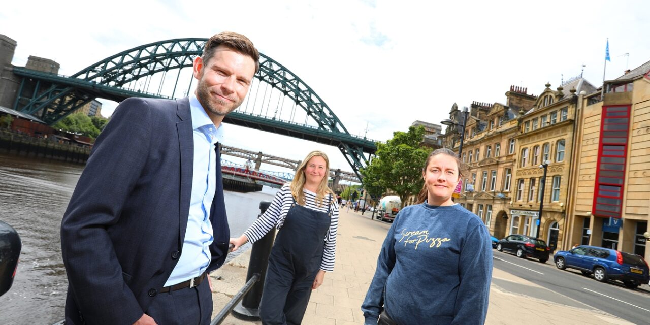 New Scream For Pizza Base On Newcastle Quayside As Business Expands With NEL Backing