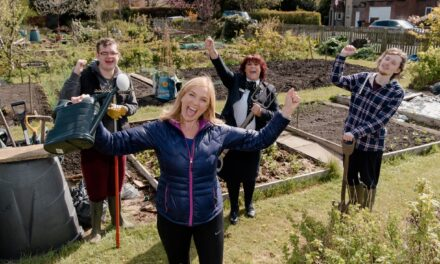 Newcastle Building Society Provides Seed Funding For Gosforth Charity's Allotment Project