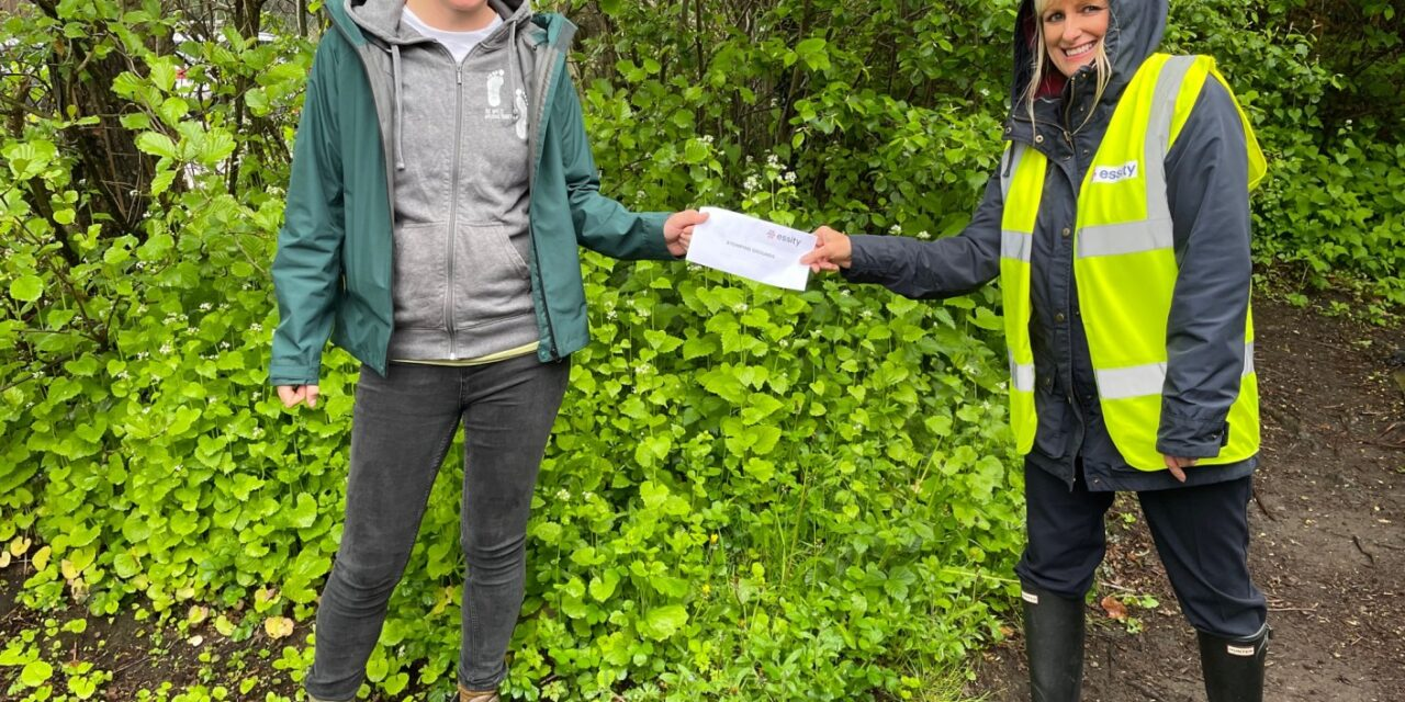 Essity donation helps disadvantaged youngsters experience nature