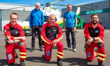 The sky's the limit as charity partnership takes off