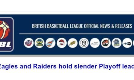 Eagles and Raiders hold slender Playoff leads