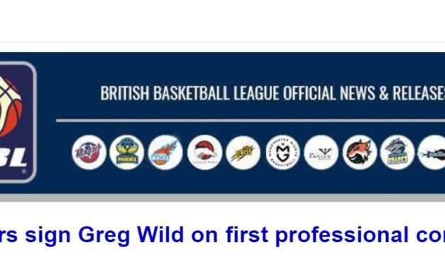 Riders sign Greg Wild on first professional contract