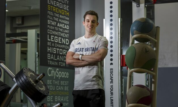 Class of 2021: Pandemic won't stop GB athlete achieving his childhood dreams