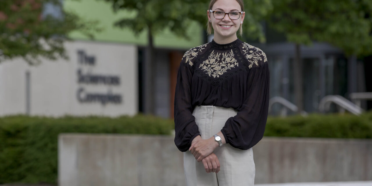 First class finish for pharmacy student who helped with Covid vaccine rollout