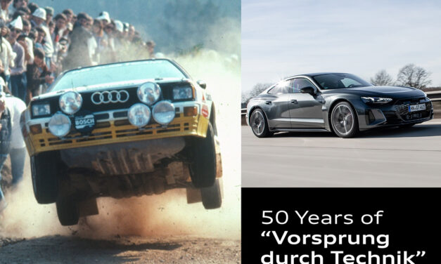 A Slogan with History: Audi marks 50 Years of Vorsprung durch Technik