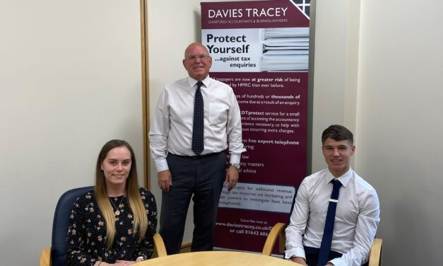 New apprentices for Tees Valley Accountants