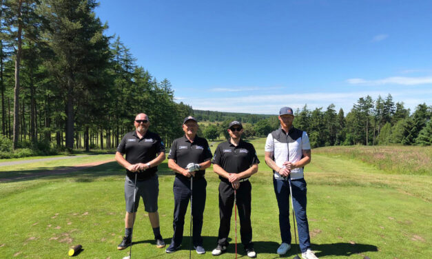 Sports stars and businesses return to the golf course to support North East children's charity