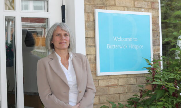 Hospice stages first business breakfast meeting since start of pandemic