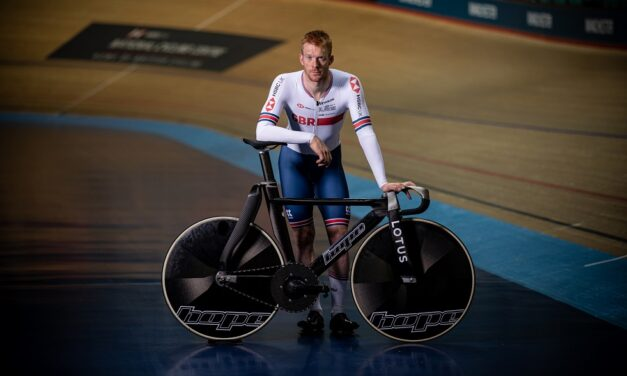 Back on the Olympic track: Great Britain Cycling Team riders full of praise for Hope / Lotus track bike