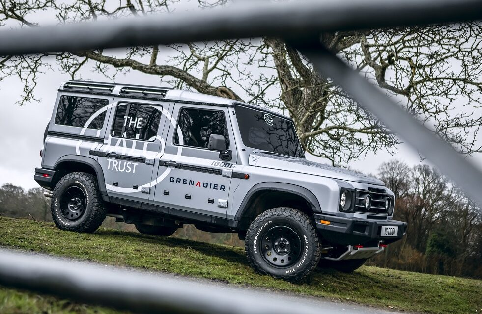 INEOS Automotive confirms role of The HALO Trust in developing its Grenadier 4×4