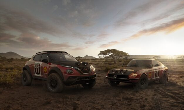 issan JUKE Rally Tribute Concept: celebrating the 50th anniversary of the iconic 240Z's East African Rally victory