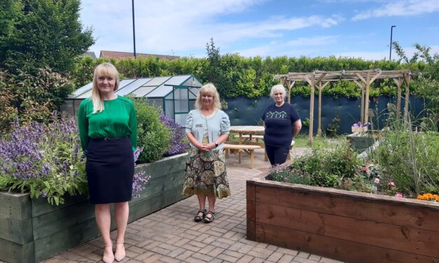 Open Air Party Marks Official Opening Of North Tyneside Charity's New Community Garden