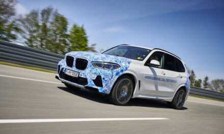 Everyday testing of BMW i Hydrogen NEXT with hydrogen fuel cell drive train begins