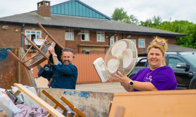 Scott Bros supports expanding Tees Valley Together with free skip service