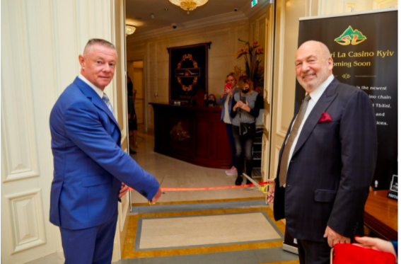 The world famous company Storm International has opened a new VIP casino in Kyiv
