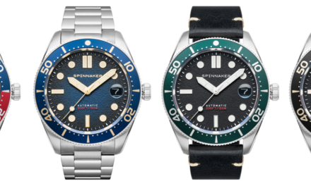 BRAND NEW from Spinnaker Watches: Croft Mid-Size