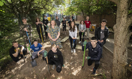 UKSE backs young team to create a special garden