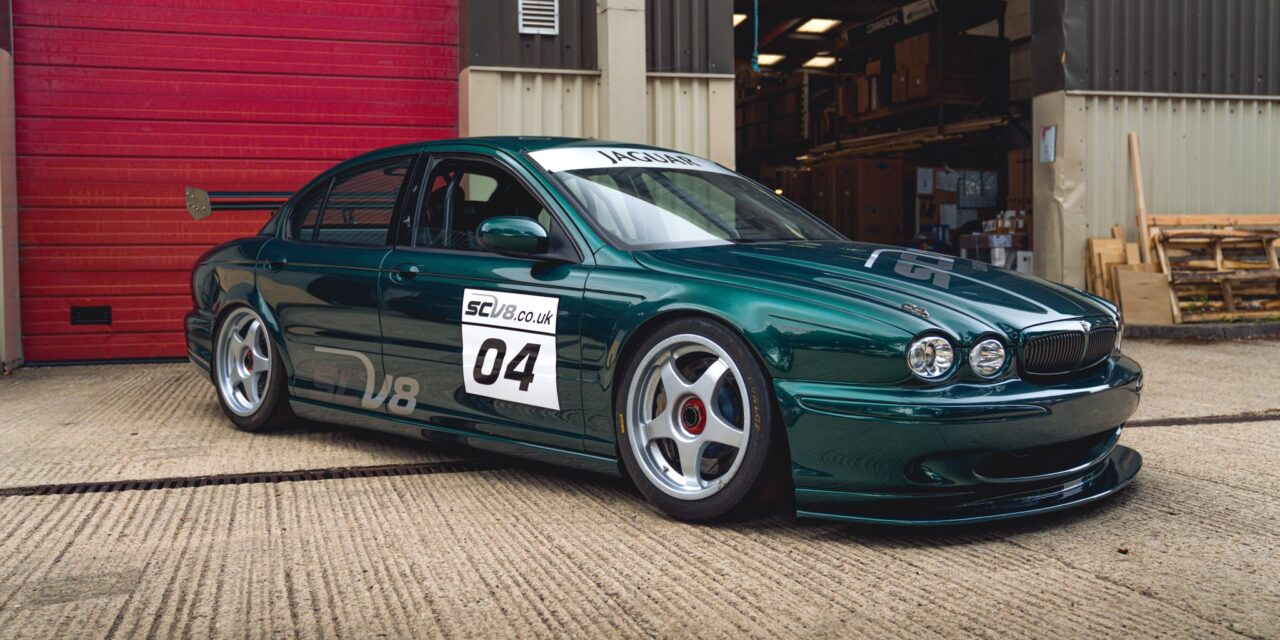 SCV8 Jaguar X-Type, the last Andy Rouse Engineering built car to be sold