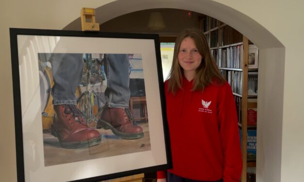 YARM SCHOOL STUDENT PAINTS A PICTURE OF SUCCESS