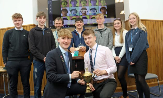 Students focus on Dominic Cummings to win industry day challenge