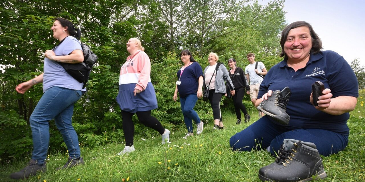 Striding forward yet back in time for history trails