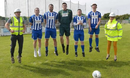 Club building on firm foundations with sponsorship deal