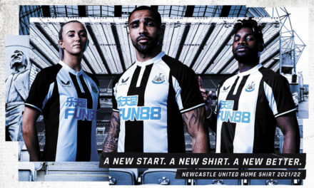 NEWCASTLE UNITED AND CASTORE LAUNCH 2021/22 HOME KIT
