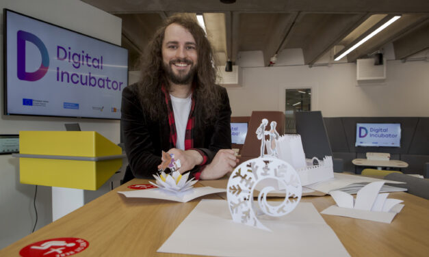 From pop-up toys to fold away shops: Welcome to the world of a paper engineer