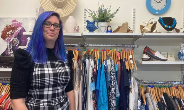 Hospice shops to get make-over under new area manager