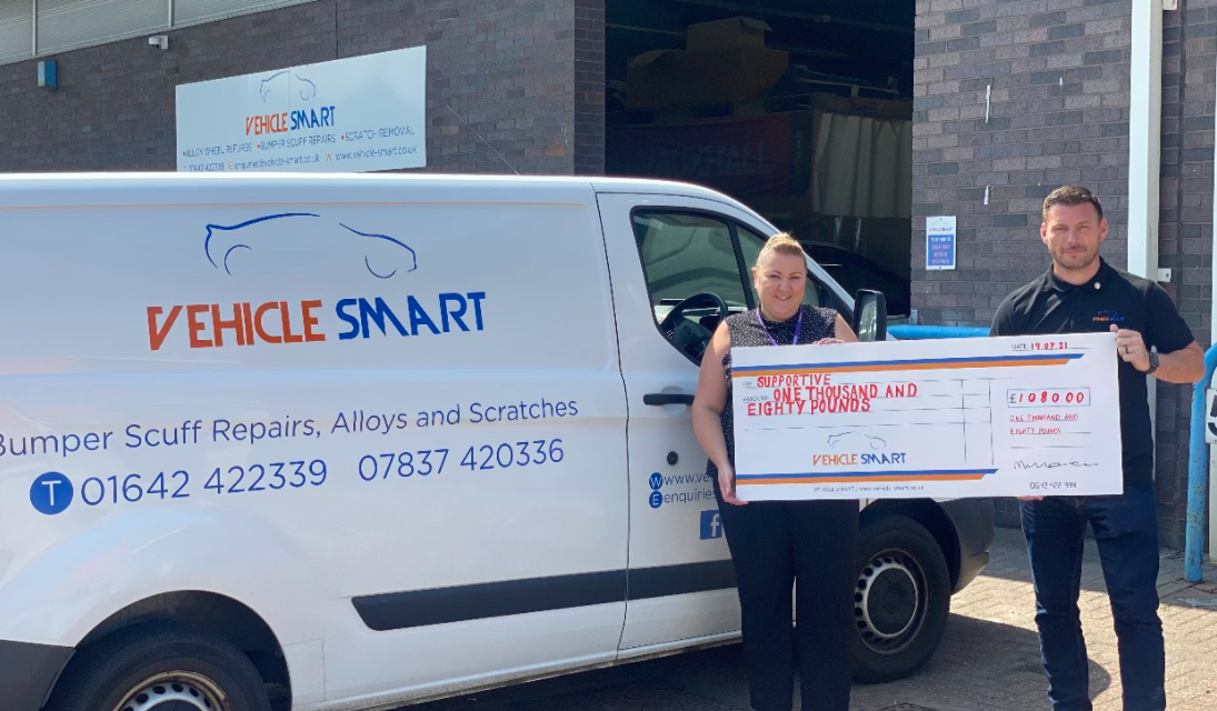 Local Vehicle Cosmetic Repair Specialists Fundraise for Supportive Charity